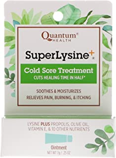 Quantum Health Super Lysine Cold Sore Treatment 0.25 oz 7 g
