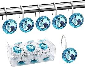 Best blue sparkle shower curtain Reviews