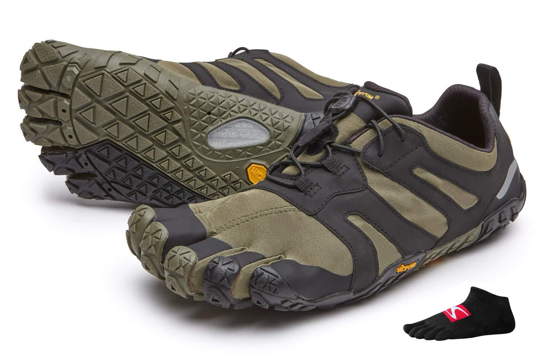 Vibram FiveFingers V-Trail 2.0 - Zapatillas de running con dedos para mujer, Ivy/Black, 41 UE: Amazon.es: Deportes y aire libre