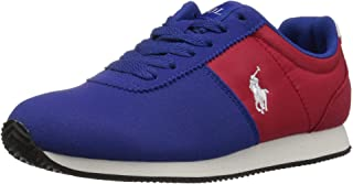 POLO RALPH LAUREN Kids Girls Brightwood Low Top Lace Up Fashion Sneaker US
