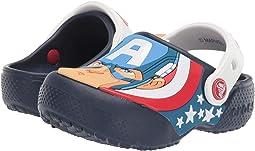 CrocsFunLab Captain America Clog (Toddler/Little Kid)