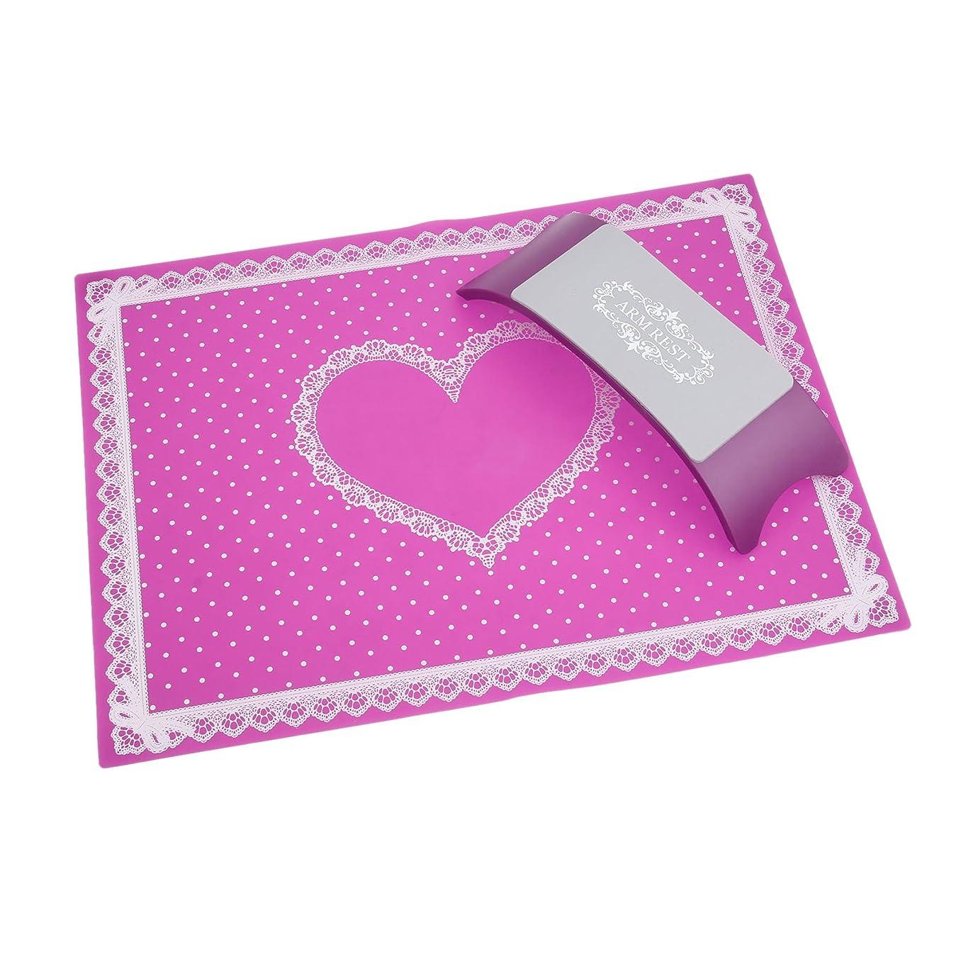 ポテトきゅうりワックスシリコン製 手枕&アームレストマットSET 可愛いポイントデザイン