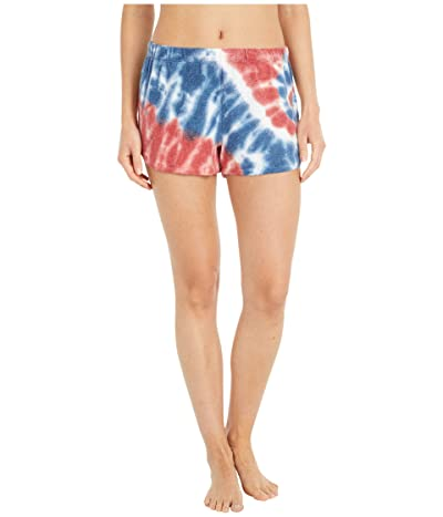 P.J. Salvage American Revival Tie-Dye Shorts (Ivory) Women