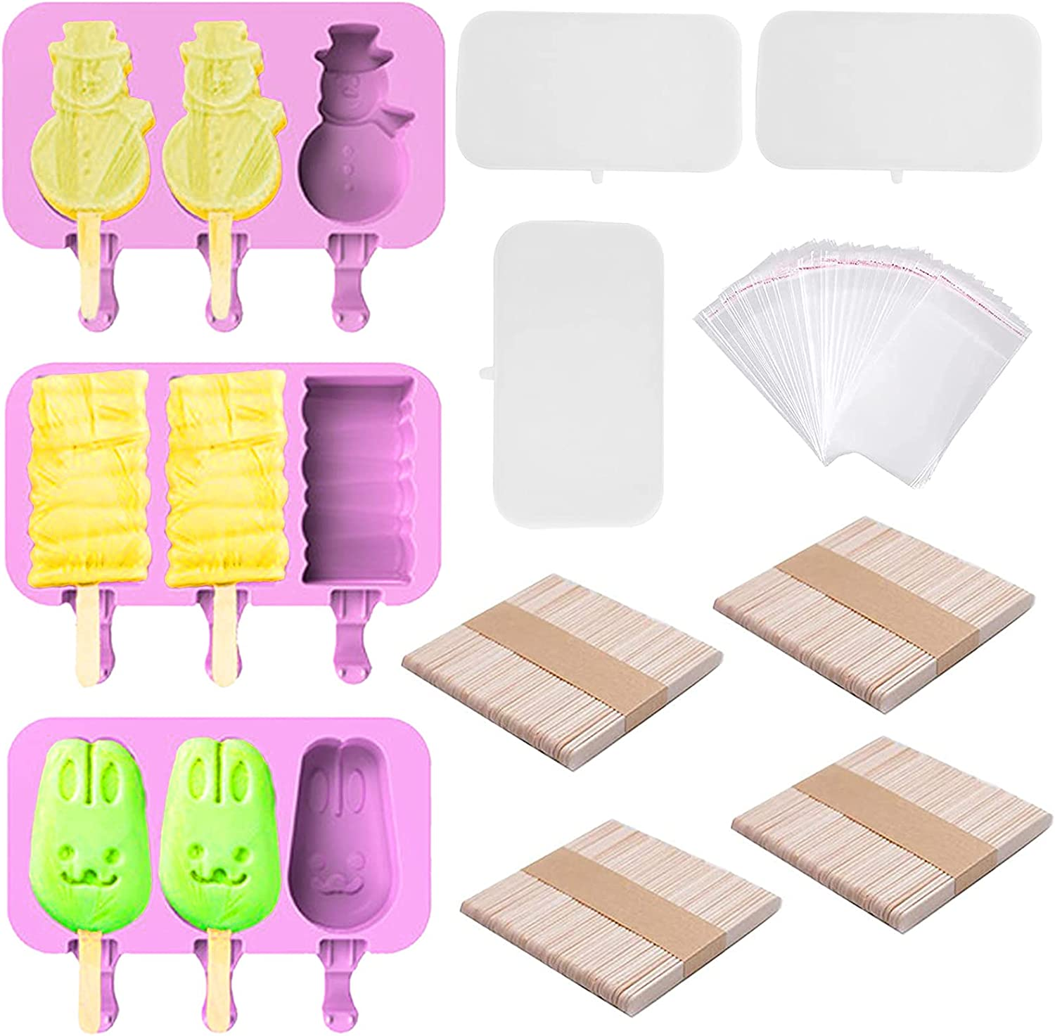 Popsicle Moluds Rapid rise Ice Cream Pop Molds Homemade Raleigh Mall Moulds
