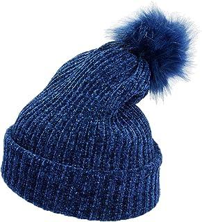 moonsix Women's Winter Pom Pom Beanie Hat Chunky Baggy Knit Hats Warm Slouchy Ski Cap