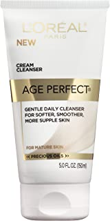 L'Oreal Paris Skin Expertise Age Perfect for Mature Skin, Day Cream SPF 15 + Night Cream, 2.5 Ounce Each Anti-Aging Face Moisturizer by L'Oreal Paris Skin Care, Revitalift Triple Power Anti-Aging Moisturizer with Pro Retinol, Hyaluronic Acid & Vitamin C to reduce wrinkles, firm and brighten skin, 1.7 Oz L'Oreal Paris Skincare Revitalift Triple Power Concentrated Face Serum Treatment with Hyaluronic Acid and Pro-Xylane, Hyaluronic Acid Serum, Anti-Aging Facial Serum to Repair Wrinkles, 1 oz L'Oreal Paris Skincare Age Perfect Cream Cleanser, Gentle Daily Cleanser for Softer and Smoother Skin, Makeup Remover, Face Wash for All Skin Types, 5 fl. oz