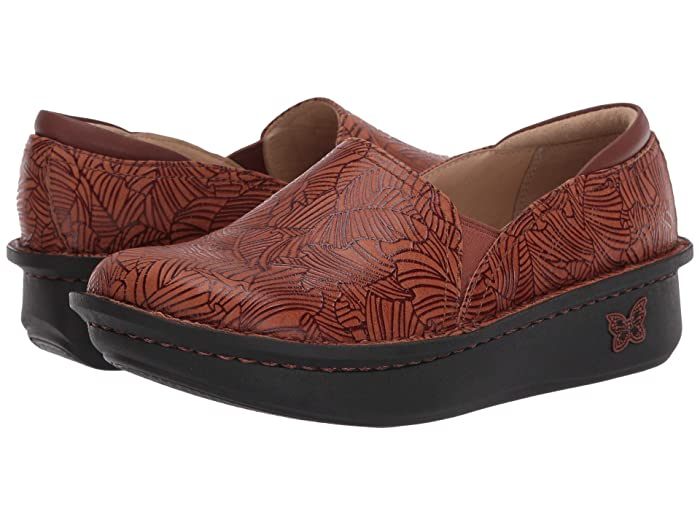 Alegria  Debra (Tobacco Leaf) Womens Clog Shoes