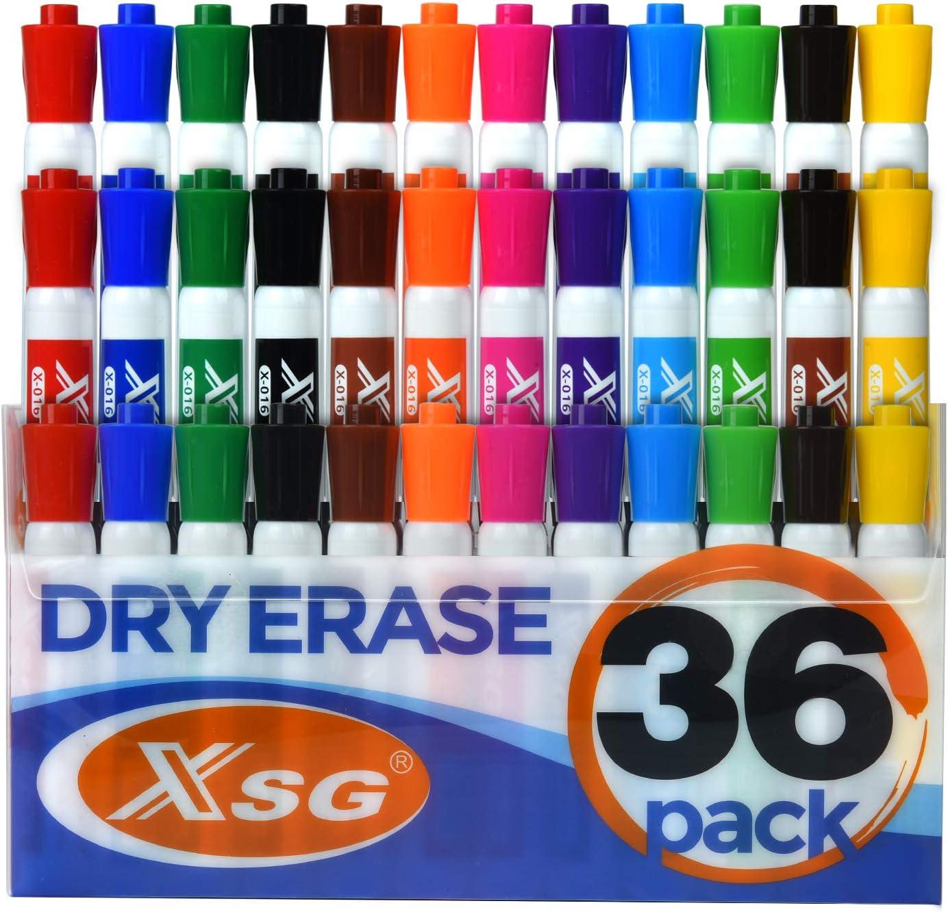 Dry Erase chisel tip Marker Pen Year-end gift Bulk 12 XSG Pack) Factory outlet (36