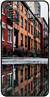Personalized Facade Puddle Reflection House Windows iPhone 6/6s Plus Case for [5.5 inch]
