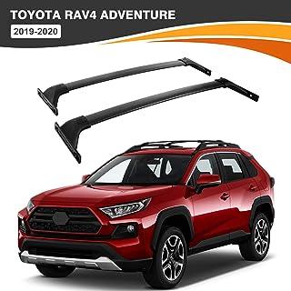 ALAVENTE Roof Rack Crossbars Compatible with Toyota RAV4 Adventure 2019 2020, Aluminum Alloy Crossbars Luggage Roof Racks for RAV4 Adventure 19-20, Pair
