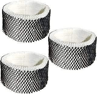 HQRP Filter 3-Pack for Sunbeam SWF62-CN1#SWF-62 SWF62 SF-212 SF212 SCM1100 SCM1701 SCM1702 SCM1761 SCM1762 SCM2409 SCM41000 Humidifier Coaster