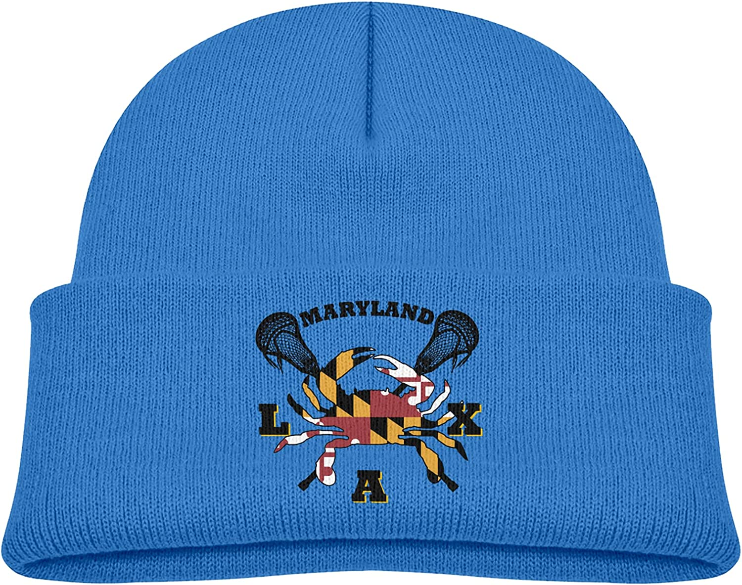 Maryland Crab Lacrosse Trendy Koopy Winter Hats Attention brand Cap Knit Very popular Beanie
