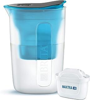 BRITA, Carafe Filtrante, Fun, 1.5L, 1 Cartouche Filtrante MAXTRA+ incluse - Bleu