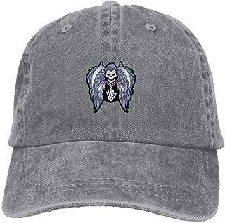 Skull Middle Finger Wing Classic Unisex Adjustable Baseball Cap Dad Hat
