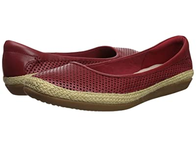 Clarks Danelly Adira (Red Leather) Women