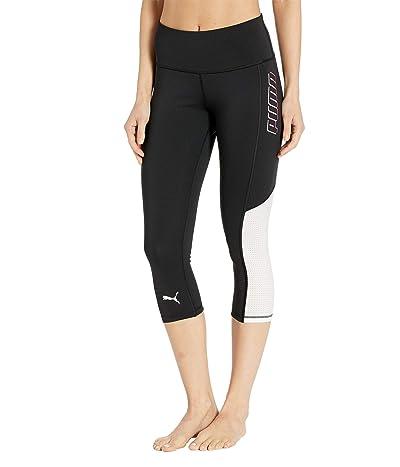 PUMA Modern Sports 3/4 Leggings (PUMA Black) Women