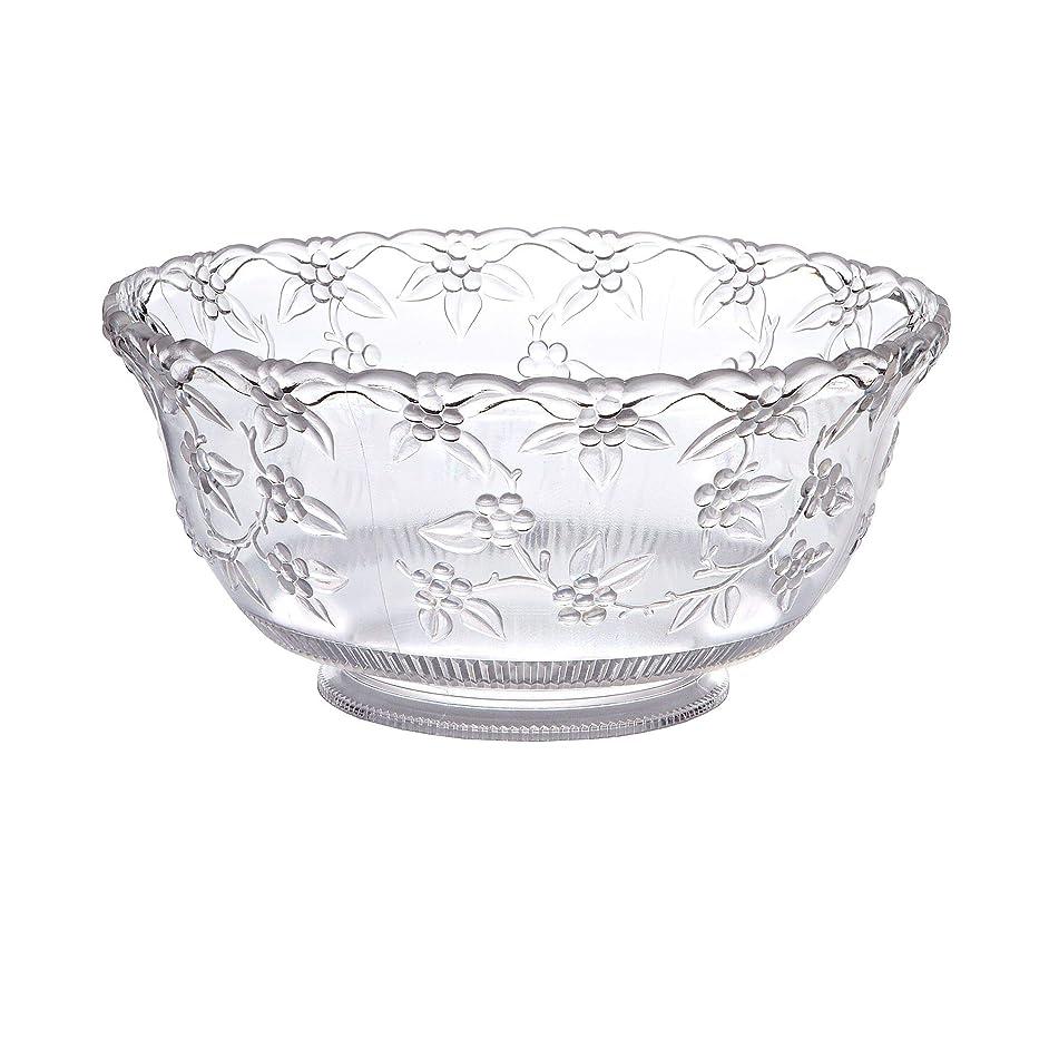 Crystalware Maryland Plastics Small Punch Bowl, 8 quart, Clear