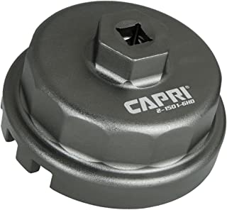 Capri Tools Forged Toyota Oil Filter Wrench, for Toyota/Lexus with 2.5L to 5.7L Engines