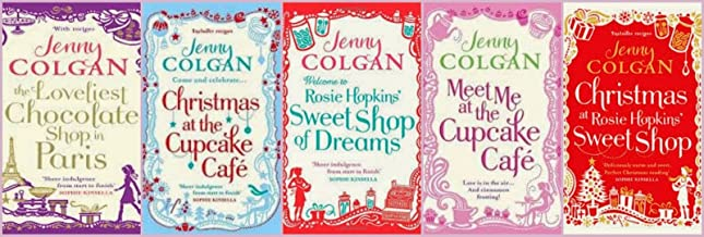 Jenny Colgan 6 Book Set Collection: The Loveliest Chocolate Shop in Paris, Meet Me At The Cupcake Café, Little Beach Street Bakery, West End Girls, Christmas at the Cupcake Cafe, Sweet Shop of Dreams