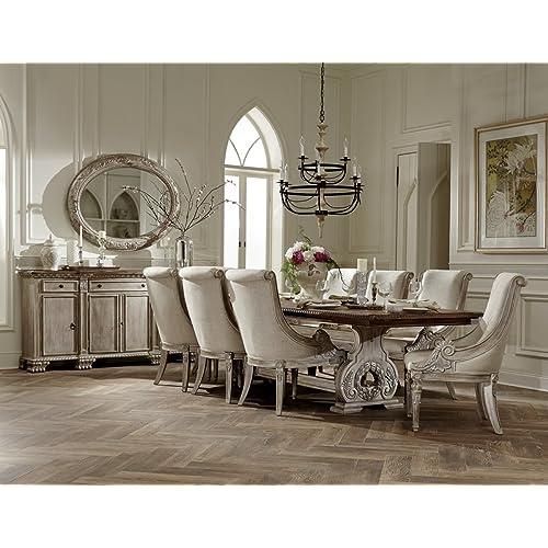 Trestle Dining Table Set: Amazon.com