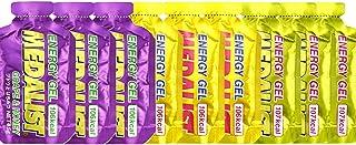MEDALIST メダリスト エネルギージェル3味9本セット(リンゴ×3、ブドウ×3、グレープフルーツ×3) (オリジナル補給食説明書付)【sotoasoオリジナルセット トレイルランニング マラソン 自転車 トライアスロン 行動食 補給食】
