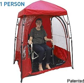 EasyGO CoverU 运动搁架 - 1 或 2 个人天气帐篷 - 正在申请 中 1 Person-Red COVER