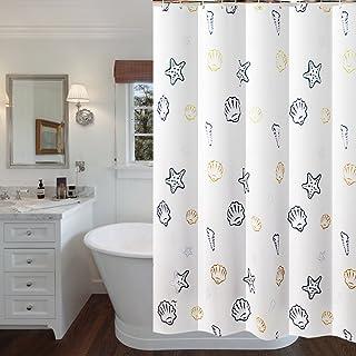 Anclaje cortina de ducha marinero pinup chica motivo visillos impermeable