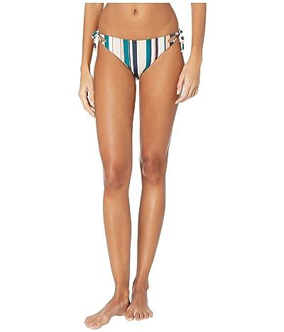 Roxy Milady Sand Full Swim Bottoms (Mood Indigo Soul Stripes) Women
