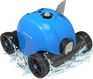 PAXCESS limpiador automático de piscinas, limpiador robótico de piscina con batería recargable de 5000 mAh, tiempo de trab...