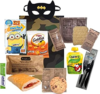 NEW: KIDS MRE - Full Meal - Several Entrée Options w/ Play Pack & more! '20-'21 (Kids MRE: Pepperoni Pizza Slice)