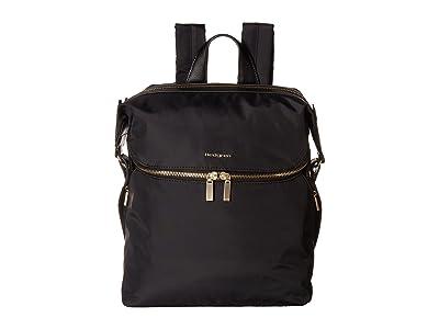 Hedgren Paragon Medium Backpack (Black) Backpack Bags