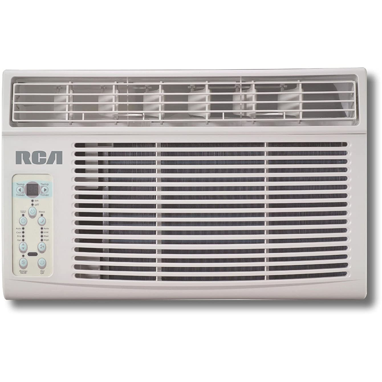 RCA RACE1202E 12,000 BTU 115V Remote Control Window Air Conditioner, White