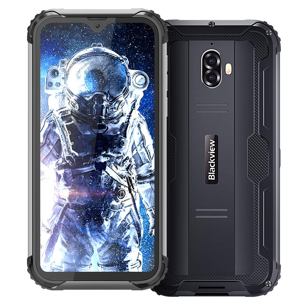 "Rugged Cell Phones Unlocked, Blackview BV5900 (2020) 3GB+32GB Rugged Smartphone, 5580mAh 5.7"" Dual sim Unlocked Cell Phone..."