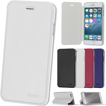 Doupi Flip Case Für Iphone 6 6s Deluxe Schutz Hülle Elektronik
