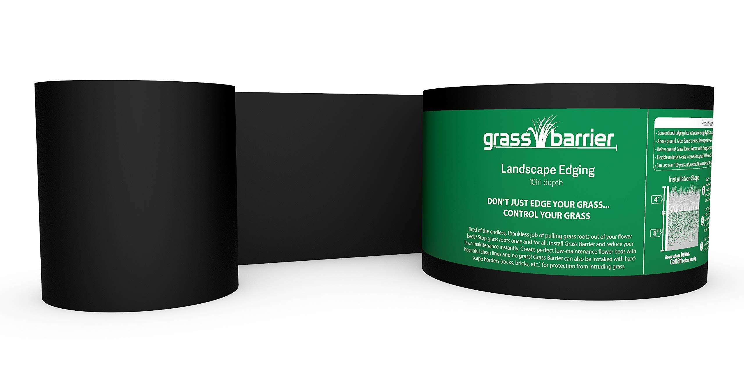 Grass Barrier Landscape Edging Depth
