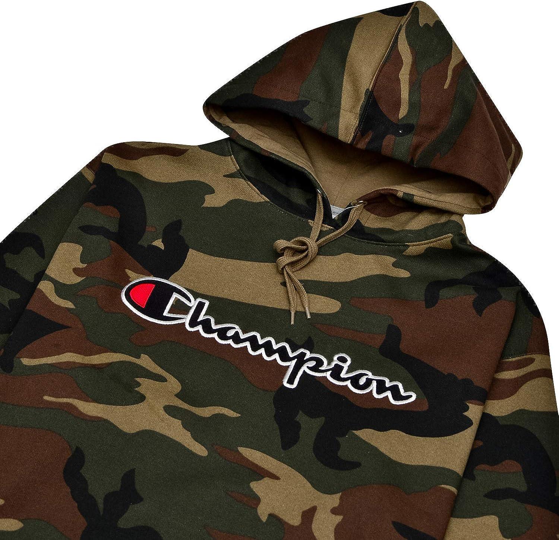 Champion Hoodie Men Big & Tall Embroidered Pullover Champion Hoodies Sweatshirt