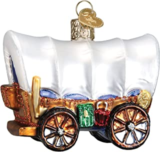 Old World Christmas Covered Wagon Ornament