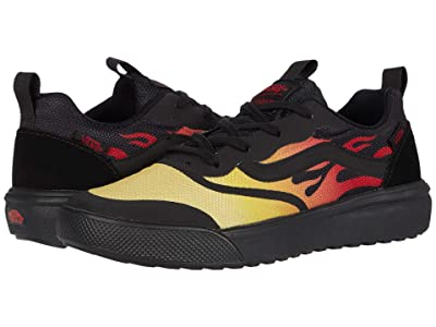 Vans Kids UltraRange Rapidweld (Little Kid) ((Flame) Black) Boys Shoes