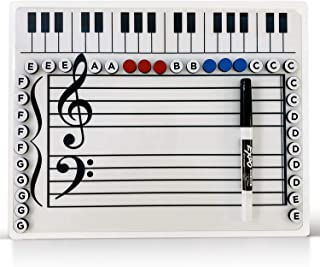 Music Grand Staff Dry Erase Magnetic Board