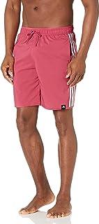 mens Classic Length 3-stripes Swim Short