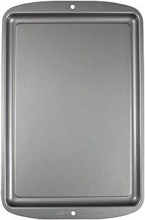 PME CSB113 Petite Plaque à Pâtisserie Anti-adhérente en Acier au Carbone 331 x 229mm de Profondeur, Silver, 37,5 x 24,5 x...