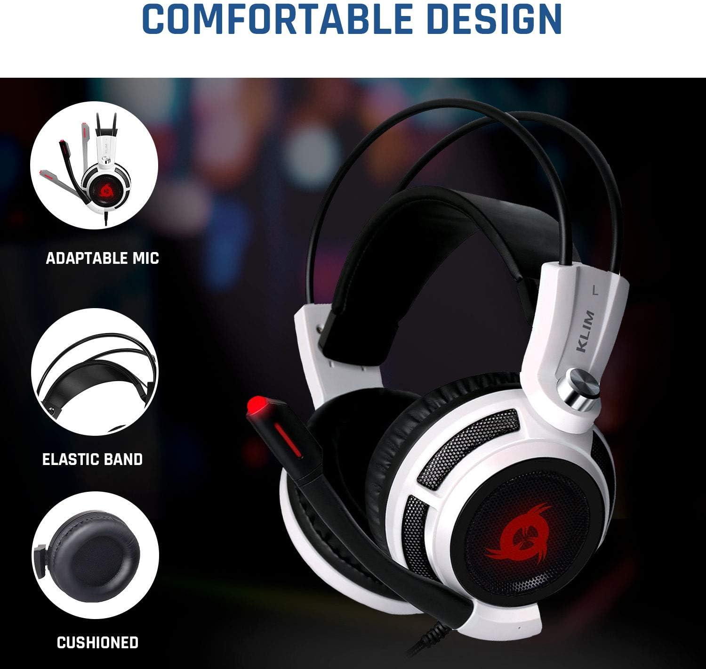 Amazon.com: KLIM Puma - USB Gamer Headset with Mic - 7.1 Surround ...