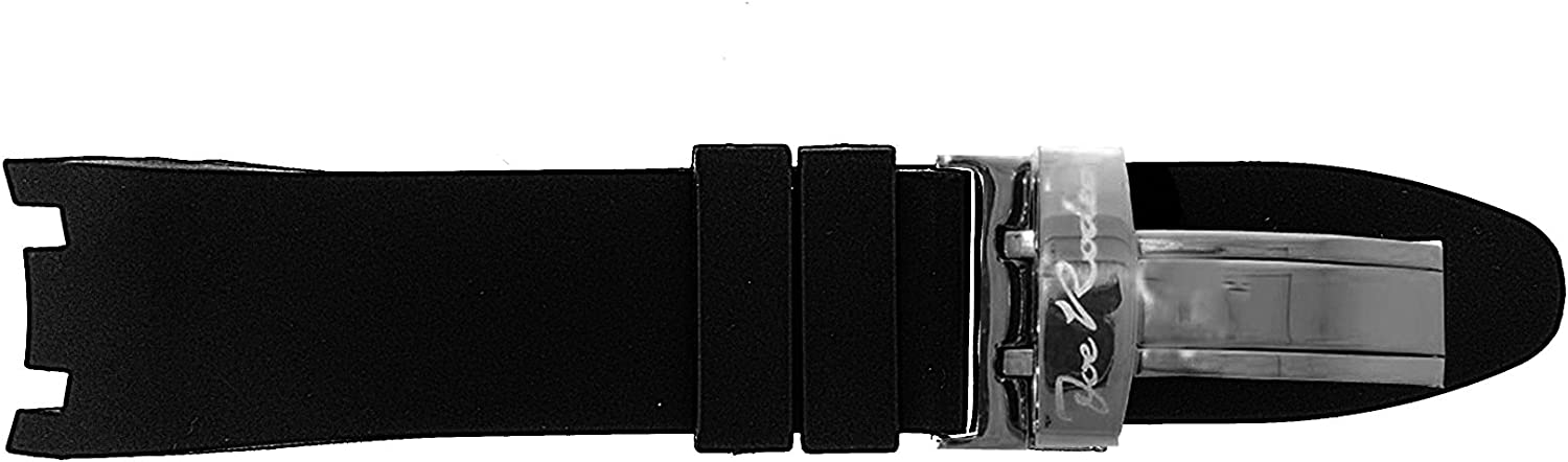 JoJo Joe Rodeo Watch Band for Master Color Rubber shop Man in w Black Lowest price challenge