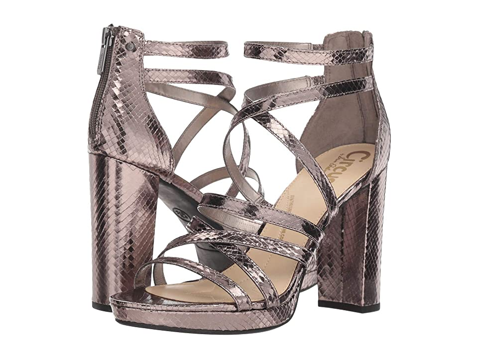 154bbe2fa2879 Circus by Sam Edelman Adele (Pewter Baby Boa Snake) Women s Shoes
