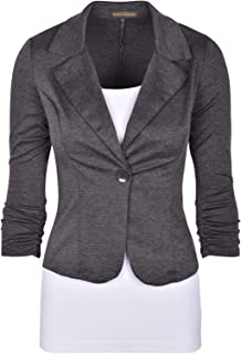 Auliné Collection Women's Casual Work Solid Color Knit...
