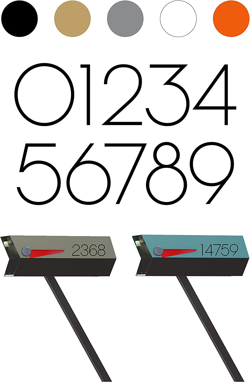 modbox USA Chalet Modern Mailbox Numbers Custom 2021new 2021 shipping free to Cut Address