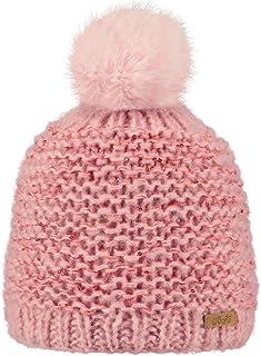 bc849bc665585 BARTS - Bonnet pompon imitation fourrure rose tendre Enfant Fille 3 au 10  ans Barts