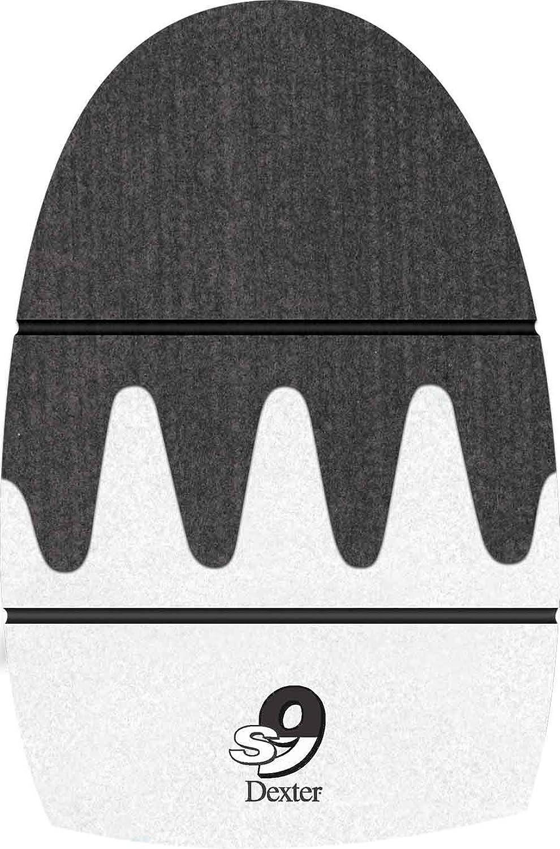 Dexter The 9 Sole Longer Slide 9 Sawtooth Bowling shoes, Brown, Small (Men's 7-8.5, Women's 9-10)