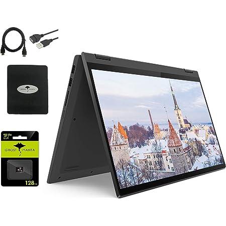 "2021 Lenovo IdeaPad Flex 5 14"" Convertible Laptop, 14-inch FHD 2-in-1 Touch-Screen Display, AMD Ryzen 3 4300U(Beat i5-8265U), 4GB RAM, 256GB NVMe SSD, Windows 10 S w/GM Bundle"
