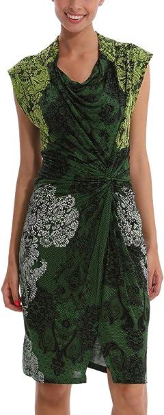 Desigual Damen Vest Carol Kleid Grun Verde Mckennan Cm 36 S Herstellergrosse M Amazon De Bekleidung